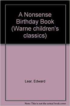 A Nonsense Birthday Book (Warne children's classics)