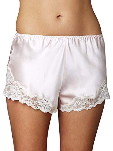 Julianna Rae Women's Sweet Indulgence 100% Silk Tap Pant, Delicate, L