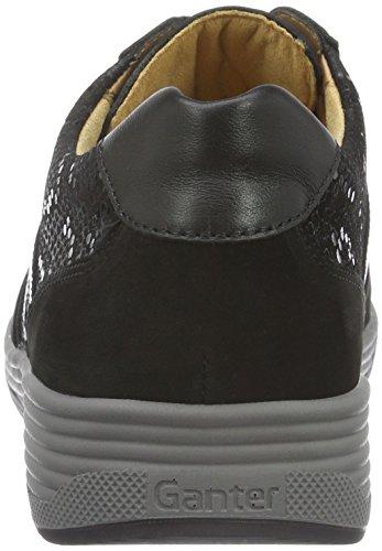 Ganter Damen Sensitiv Klara, Weite K Sneakers, Schwarz (Schwarz 0100), 40 EU