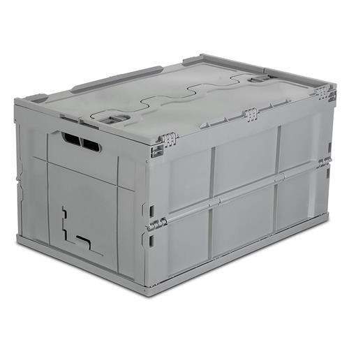 mount-it. plegable de plástico caja de almacenamiento, 65L Litro Capacidad