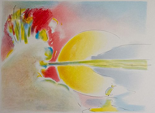 Peter Max Lithograph (Peter Max