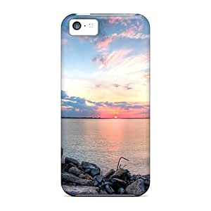 Defender Case For Iphone 5c, Last Minute Of A Sunset Pattern