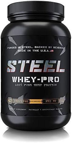 Steel Supplements Whey PRO Supplement Snickerdoodle