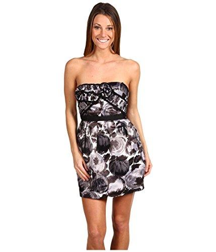 bcbg dress white strapless - 2