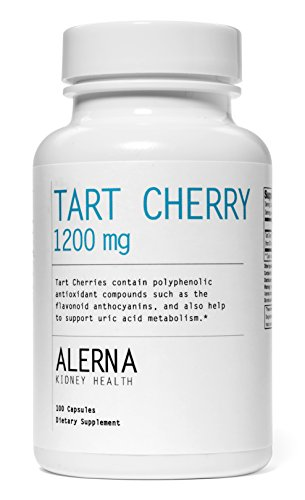 Tart Cherry 1200 mg (100 Vegetarian Capsules, Tart Cherry Extract)