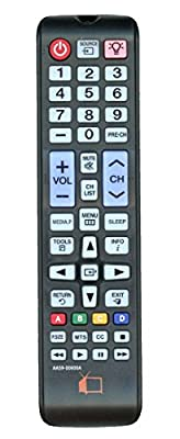 Replacement AA59-00600A Backlit Remote Control for Samsung LCD TV's