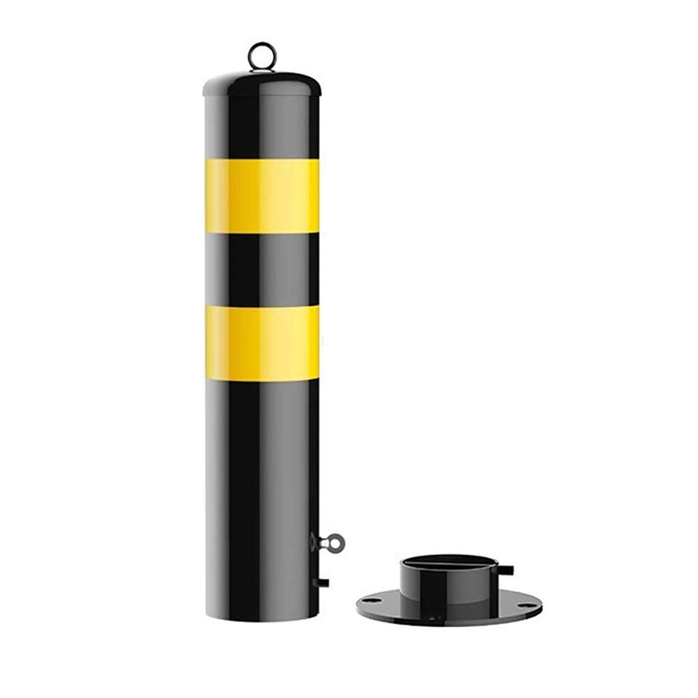 ZLLZM Parking Post Folding,Removable Parking Space Lock with Lock, Lockable Car Park Security Driveway Bollard,600 X 60Mm by ZLLZM