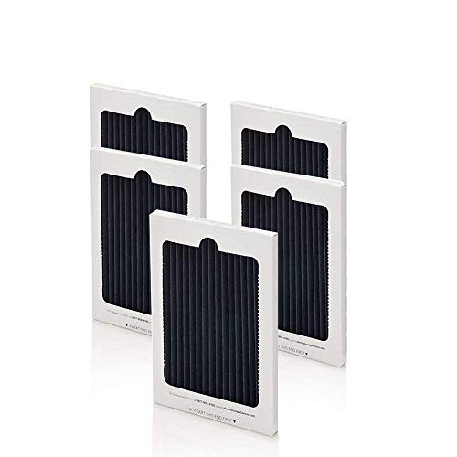 Fluar 5-pack Replacement Air Filter for Frigidaire PAULTRA Electrolux EAFCBF Pure Advantage Refrigerators, Also fits Electrolux ICON French Door Model by Fluar