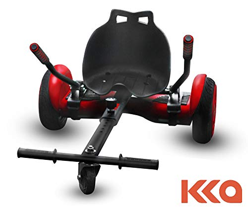 KKA Hoverboard Accessories, Hoverboard Seat Attachment Fits Self Balancing Scooter Go Cart Frame