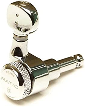Graph Tech Ratio Tuners Electric Locking 6 Inline Staggered Post