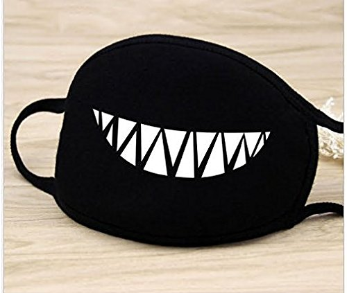 5Five Moda A Bathing Ape Bape Shark Black Face Mask Camouflage Mouth-muffle Bape Covers
