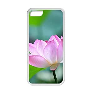 Glam Pink lotus elegant personalized creative custom protective phone case for Iphone 6 (4.5)
