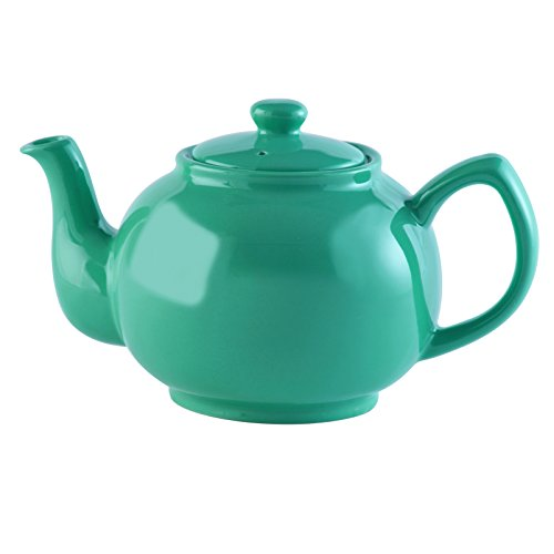Price & Kensington Brights Stoneware Teapot, 37-Fluid Ounces, Jade Green