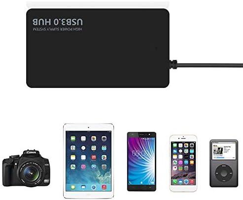 BlackUdragon Ultra-thin 4-port USB3.0 HUB High Speed Indicator Light USB Hub For Multi-device Computer Laptop