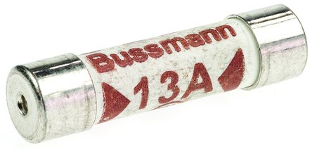 Pack 10 Quality 13A British Standards BS1362 Fuses 13 Amp Household Plug Fuse