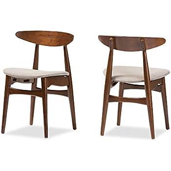 baxton studio set of 2 juliette midcentury modern dining chairs medium french