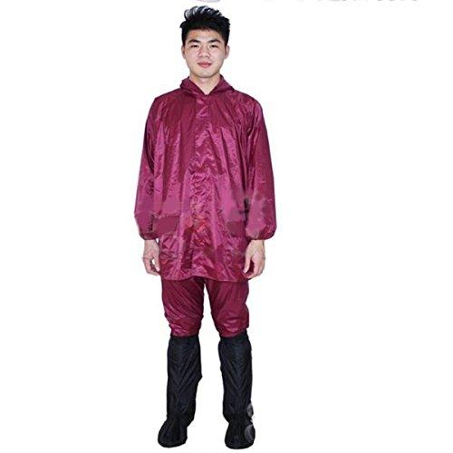 Pink Lizard Motorcycle Electric Bike Raincoat Single Or Double Suit