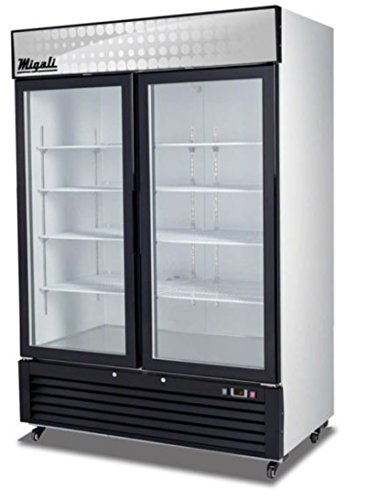 Migali C-49FM 49cu/ft Glass Door Merchandiser Freezer