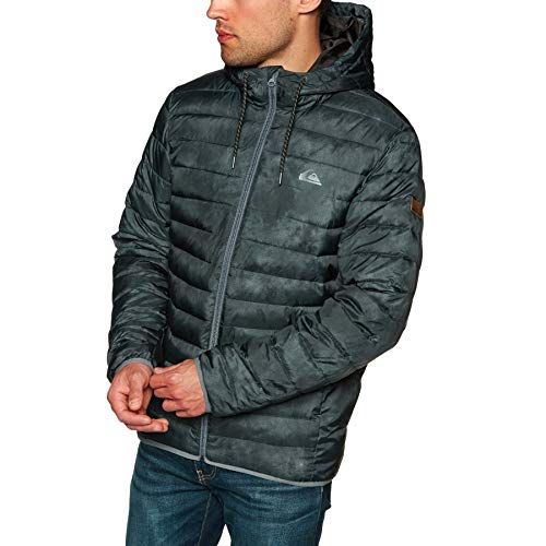 (Quiksilver Mens Scaly Jacket Large Black )