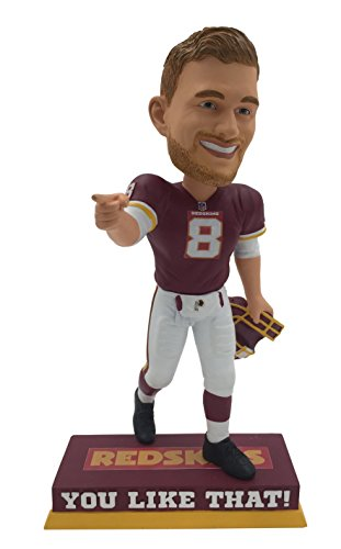 """NFL Washington Redskins Kirk Cousins You Like That Limited-Edition Bobblehead Out of 180, 8"""""""