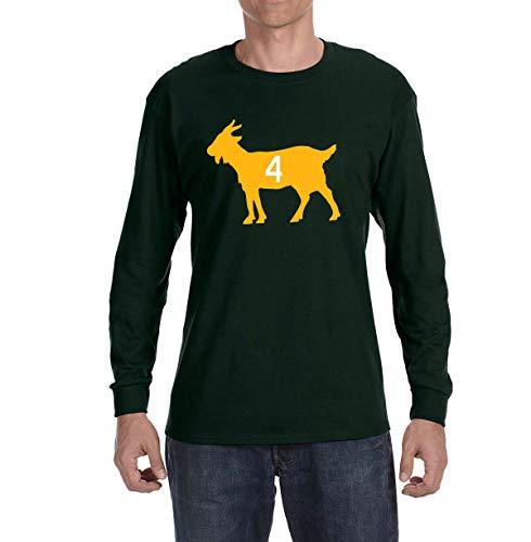 - Tobin Clothing Green Green Bay Favre Goat Long Sleeve Shirt Adult XL