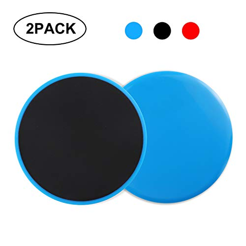 Limb Materials - Biange Core Exercise Sliders, Dual Sided Gliding Discs for Abdominal Training, Strengthening Body Coordination with Limb Workout, ABS Material, Suitable for Any Surface, Fitness Equipment