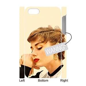 Audrey Hepburn Iphone4,4g,4s Plastic 3D Case. Audrey Hepburn DIY Case for Iphone4,4g,4s at WANNG