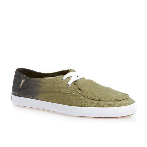 Vans M RATA VULC  KHAKI/SPICY ORA - Zapatillas de lona hombre Verde