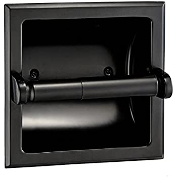 Amazon.com: Designers Impressions Black Recessed Toilet