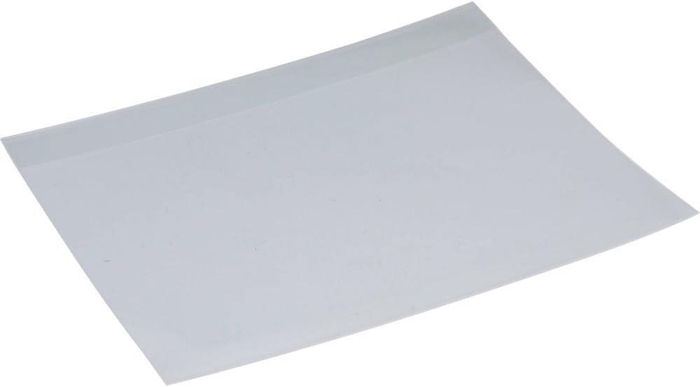 Artcare 15143001 34,5 x 0,1 x 23 cm Mati/ère synth/étique pour larchivage-A4 Bo/îte de Pochettes intercalaires Non perfor/és 10 Lot de 3 Transparent
