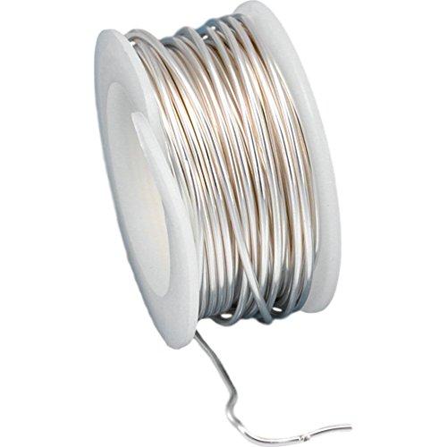 - Artistic Wire Craft Non Tarnish Silver Plated 18 Ga 4Yd