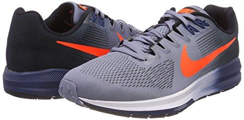 Fonc Pour bleu noir De Nike Zoom 21 Total 406 Air Crimson Homme Course marine Chaussures Structure Ciel Bleu xAqS70f