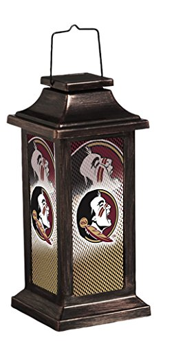 - Team Sports America Florida State University Solar-Powered Outdoor Safe Hanging Garden Lantern