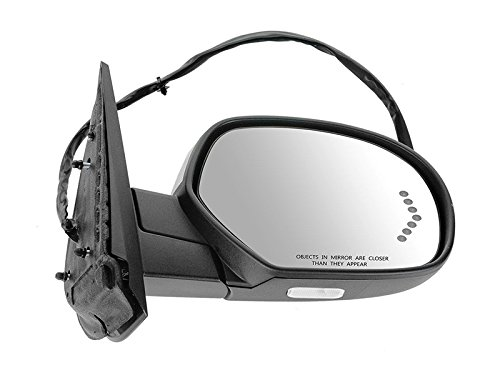 APA Power Folding Mirror for GMC Chevy Suburban Silverado Tahoe Avalanche 07-14 | Heated Memory Signal Chrome Right