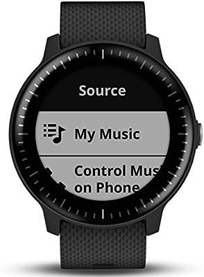 Garmin Smartwatch Vivoactive 3 Music GPS Mano Ciclismo Unisex Adulto, Negro y plata: Amazon.es: Deportes y aire libre