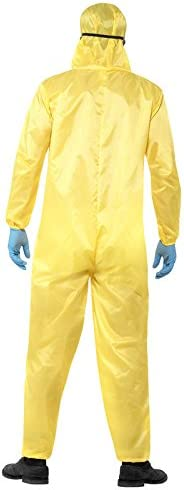 Breaking Bad Heisenberg Disfraz licencia oficial Amarillo: Amazon ...