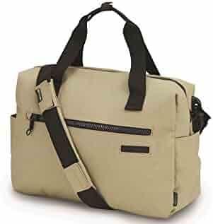 Pacsafe Intasafe Z400 Deluxe Anti-Theft Laptop Shoulder Bag, Charcoal