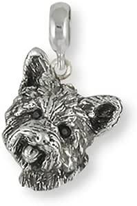 Yorkshire Terrier Mignon isol/é Plateau en Cuir Plateau de Rangement pour Monnaie Cl/é Portefeuille et Accessoire
