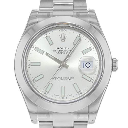 Rolex Datejust II Automatic Silver Dial Stainless Steel Mens Watch 116300SSO ()