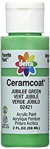 Delta Creative Ceramcoat Acrylic Paint (2 Ounce), 2421 Jubilee Green by Delta Creative