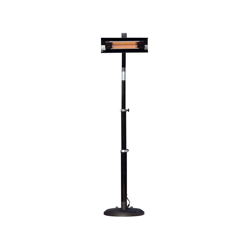 Fire Sense Telescoping Infrared Indoor/Outdoor Patio Heater, Black by Fire Sense