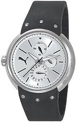 Puma Hero - S Silver Black Women's watch #PU102672002