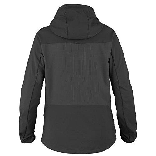 (Fjallraven Women's Abisko Hybrid Breeze Jacket, Dark Grey, XL)