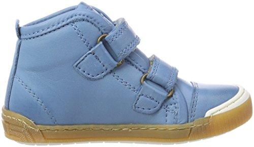 Bisgaard Unisex-Kinder Klettschuhe Hohe Sneaker Blau (Sky Blue)