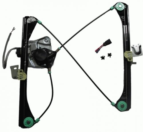 TYC 660172 Pontiac Grand AM Front Driver Side Replacement Power Window Regulator Assembly with Motor