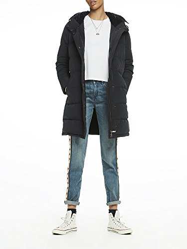 Night Femme 02 amp; Velvet Lined Puffer Soda Coat Scotch Bleu Blouson 0z7q1xvZW