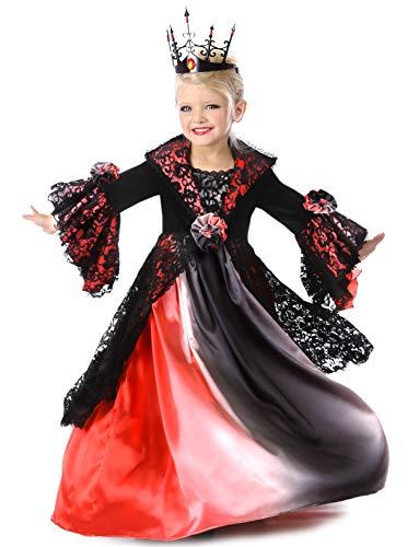 Princess Paradise Valentina Vampire Costume, Multicolor, X-Small (4) -