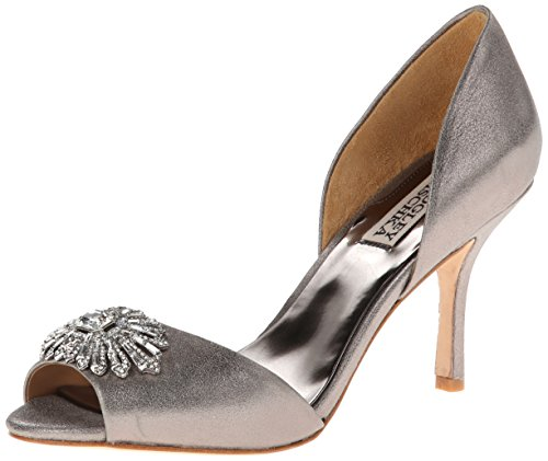 pewter wedding shoes wedding shoes weddingshoesba dgley mischka womens jazmin 6496