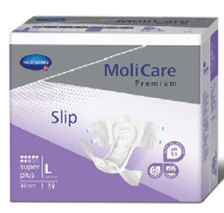 - Hartmann MoliCare Premium Soft Super Absorbency Breathable Brief, Large, Case/90 (3/30s)