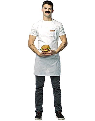 Bobs Burgers Bob Adult Costume - One (Burger Costumes Adults)